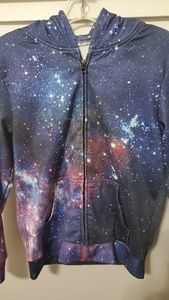 Boys Youth Galaxy Jackets Fleece